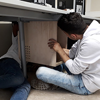 PC-Unterbauboxen