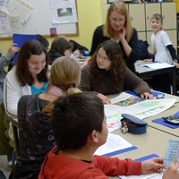 Unterricht an den Friedrich Wilhelm Murnau-Gesamtschule