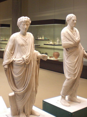 Römer im Museum